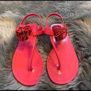 Juicy Couture rubber sandals